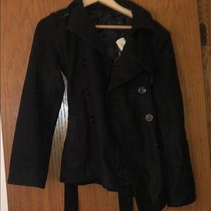 Fall black jacket